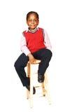 Jeune garçon jamaïquain. Image libre de droits