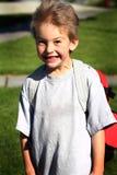 Jeune garçon mignon de jardin d'enfants Photo libre de droits