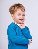 Jeune garçon pensant Photos stock