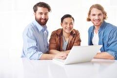 Jeune gens d'affaires Photo libre de droits