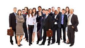 Jeune gens d'affaires attirant Photos stock
