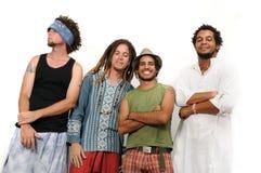 Jeune groupe multiracial Photo stock