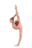 Jeune gymnaste Photos libres de droits