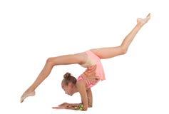 Jeune gymnaste Photo stock