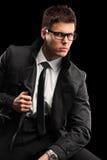 Jeune homme à la mode Photo stock