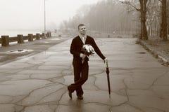 Jeune homme élégant. Mariage. Image libre de droits