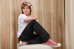 Jeune homme photos stock