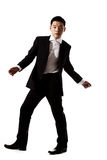 Jeune homme asiatique élégant dans le vêtement formel Photo libre de droits