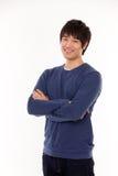 Jeune homme asiatique attirant photo stock