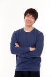 Jeune homme asiatique attirant Images libres de droits