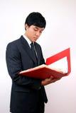 Jeune homme asiatique d'affaires. Images libres de droits