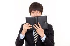 jeune homme asiatique d'affaires Photographie stock libre de droits
