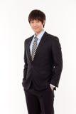 Jeune homme asiatique d'affaires Photo libre de droits