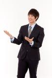 Jeune homme asiatique d'affaires Image stock