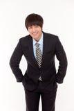 Jeune homme asiatique d'affaires Photographie stock