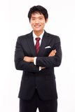 Jeune homme asiatique d'affaires images libres de droits
