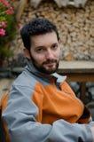 Jeune homme avec la barbe Photographie stock
