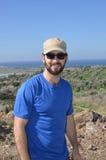 Jeune homme avec la barbe Photographie stock libre de droits
