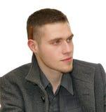 Jeune homme avec le cigare Images stock