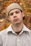 Jeune homme avec le regard dur image libre de droits