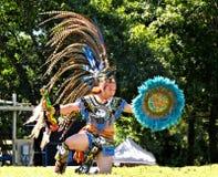 Jeune homme aztèque Images libres de droits