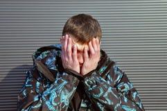 Jeune homme beau E photo libre de droits