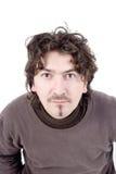 Jeune homme caucasien idiot Image libre de droits