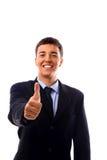 Jeune homme d'affaires Images stock