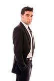 Jeune homme d'affaires Photographie stock libre de droits