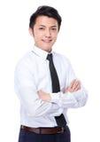 Jeune homme d'affaires Image stock