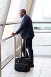 Jeune homme d'affaires africain Image stock
