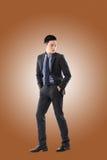 Jeune homme d'affaires asiatique image stock