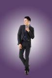 Jeune homme d'affaires asiatique photographie stock libre de droits