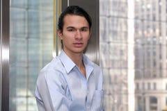 Jeune homme d'affaires beau Images libres de droits