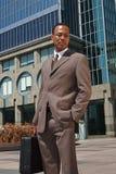 Jeune homme d'affaires confiant images libres de droits