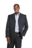 Jeune homme d'affaires d'Afro-américain photographie stock libre de droits