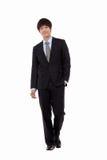Jeune homme d'affaires nouvelles des employés Photo libre de droits