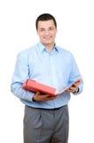 Jeune homme d'affaires réussi image stock