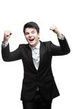 Jeune homme d'affaires réussi Photos libres de droits