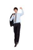 Jeune homme d'affaires vibrantes Image stock