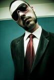 Jeune homme dans le procès photos libres de droits