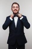 Jeune homme dans le vêtement formel Photographie stock