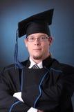 Jeune homme de graduation Photo libre de droits