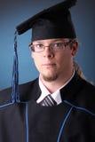 Jeune homme de graduation Photos libres de droits