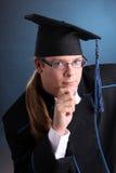 Jeune homme de graduation Photos stock