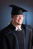 Jeune homme de graduation Image libre de droits