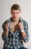 Jeune homme de mode Photo libre de droits