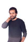 Jeune homme de sourire Photo libre de droits