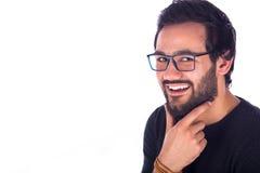 Jeune homme de sourire Images stock