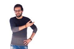 Jeune homme de sourire Images libres de droits